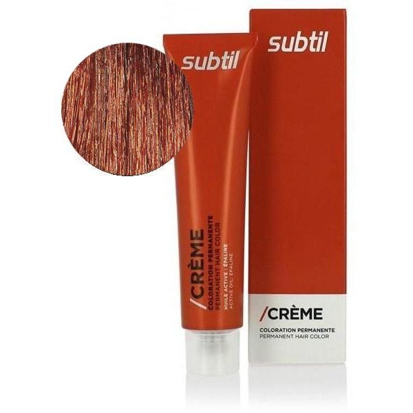Crema sutil Nº 6.64 Rubio oscuro cobre rojo 60ml