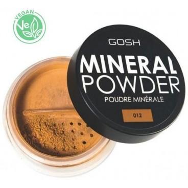 Poudre libre n°12 Caramel - Mineral Powder GOSH