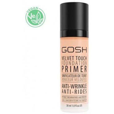 Base unifiante anti-ride - Velvet Touch Foundation GOSH 30ML