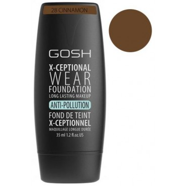 Fond de teint n°28 Cinamon - X-Ceptional GOSH 35ML