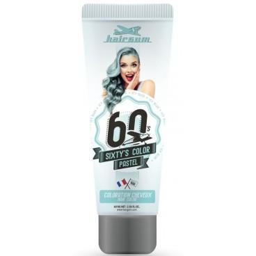 Colore crema semipermanente Sixty's Color - HAIRGUM 60ML Ice Blue