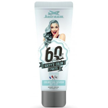 Sixty's Color Semipermanente Cremefarbe - HAIRGUM 60ML Ice Blue