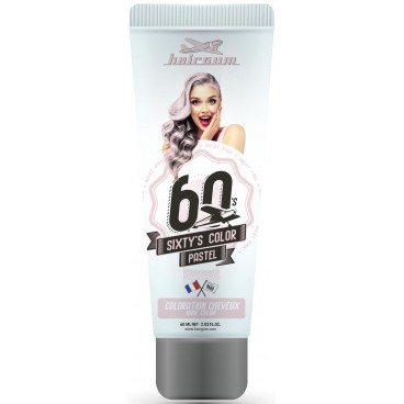 Colore crema semipermanente Sixty's Color - Rosa pallido HAIRGUM 60ML