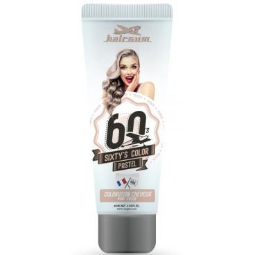 Crema colorante Sixty's Colour - HAIRGUM Peach 60ML