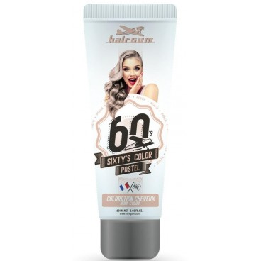 Sixty's Color Coloring Cream - HAIRGUM Peach 60ML