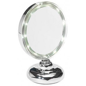 Magnifying mirror has Ellepi Led X 5 Gm