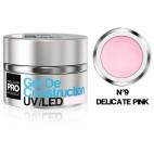 Gel di costruzione UV/LED Mollon Pro 15 ml (per colore)