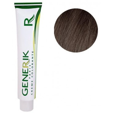 Générik Coloration Sans amoniaque N°5.15 Chatain Clair Cendré Acajou 100 ML