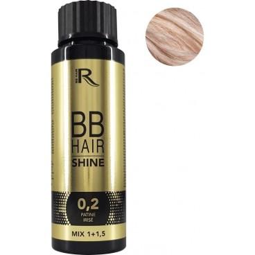 Pátina sin amoniaco iridiscente 0.2 BBHair Shine GENERIK 60ML