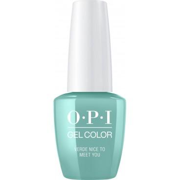 OPI Vernis Gel Color - Verde Encantado de conocerte 15ML