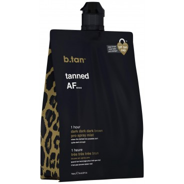Mousse autobronzante brun chocolat (12,5% DHA) 1H Pro-stay B-TAN 750ML