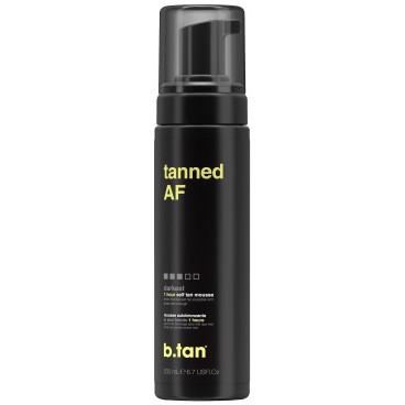 Sehr dunkelbrauner selbstbräunender Schaum (16,5% DHA) 1H Pro-stay B-TAN 200ML
