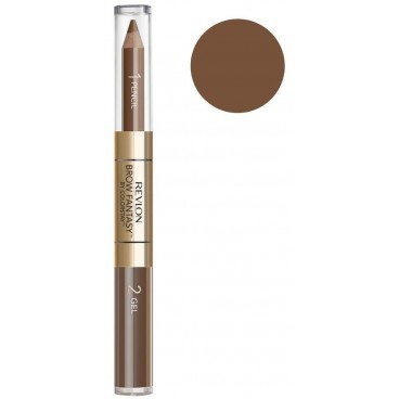 Eyebrow Pencil Duo Revlon Brow Fantasy 104 Dark Blonde