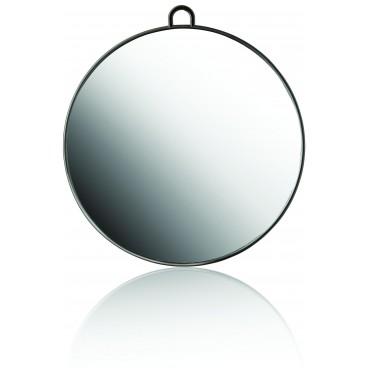 Miroir arrondie noir