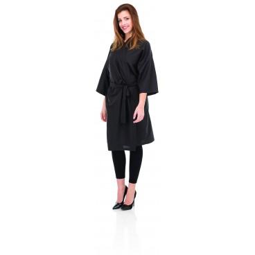 Kimono professionnel noir en PVC
