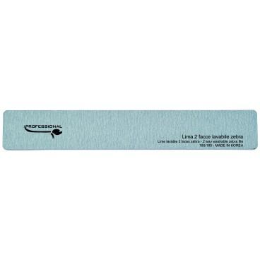 Lime rectangulaire zebre - grains moyens 180/181