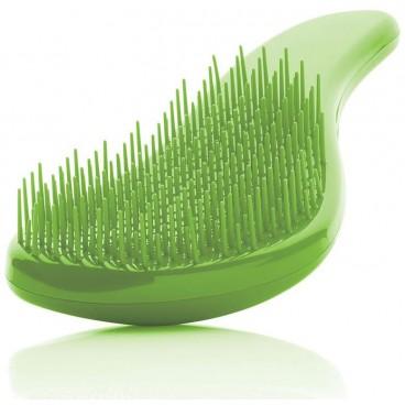Cepillo desenredante verde iónico