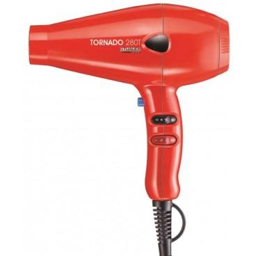Sèche-cheveux professionnel rouge Tornado STHAUER