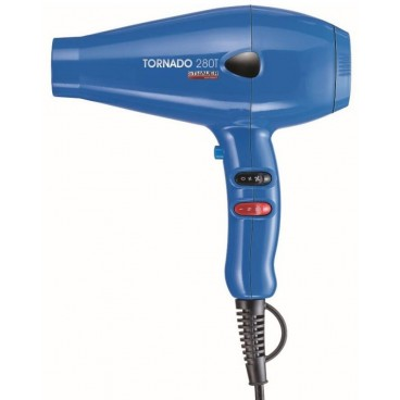 Sèche-cheveux professionnel bleu Tornado STHAUER