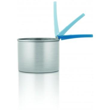Pot à cire dépilatoire manche pliable 400g