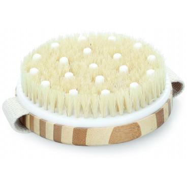 Brosse bain massage corps en bois