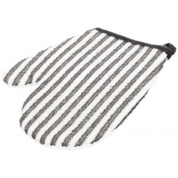 Gant coton exfoliant Luffa 21x19cm