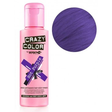 Coloration semi-permanente Hot purple CRAZY COLOR 100ML