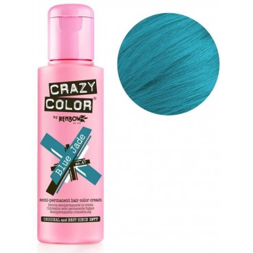Coloration semi-permanente Blue Jade CRAZY COLOR 100ML