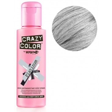 Coloration semi-permanente Platinium CRAZY COLOR 100ML