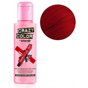 Coloration semi-permanente Vermillon red CRAZY COLOR 100ML