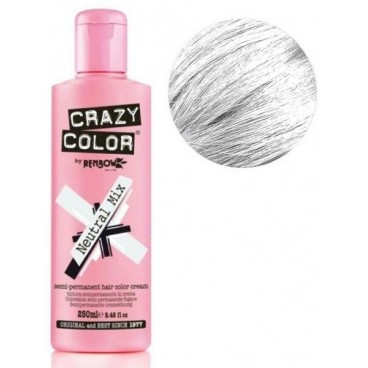 Coloration semi-permanente Neutral CRAZY COLOR 100ML