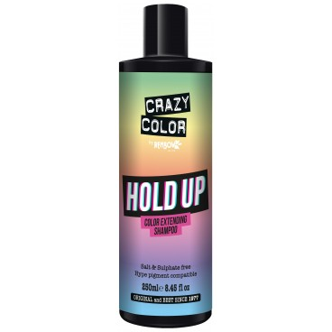 Shampooing re-activant base Hold Up CRAZY COLOR 250ML