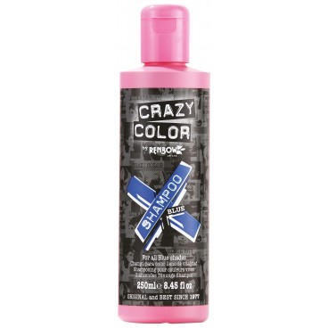Shampooing re-activant bleu CRAZY COLOR 250ML