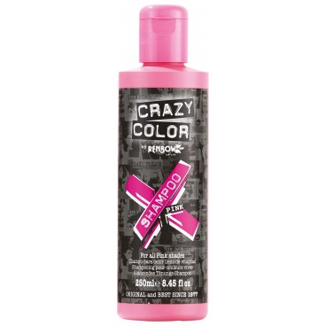 Shampooing re-activant rose CRAZY COLOR 250ML