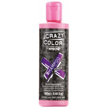 Shampooing re-activant violet CRAZY COLOR 250ML