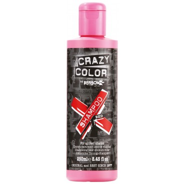 Shampooing re-activant rouge CRAZY COLOR 250ML