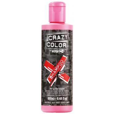 Shampooing re-activant rouge CRAZY COLOR 250ML