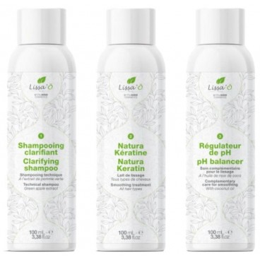 Shampoing clarifiant avant lissage LISSA'Ô 1L