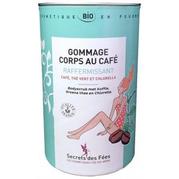 Gommage corps au café raffermissant bio SECRETS DES FEES  200g