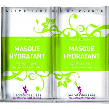Masque hydratant repulpant bio SECRETS DES FEES 2x9g