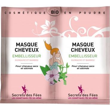 Masque cheveux embellisseur bio SECRETS DES FEES  2x16g