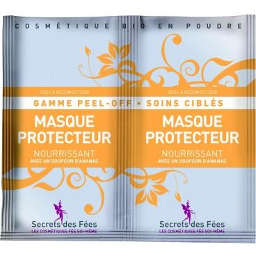 Masque peel-off protecteur nourrissant bio SECRETS DES FEES 2x16g