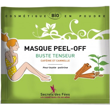 Masque peel-off Buste tenseur bio SECRETS DES FEES  30g