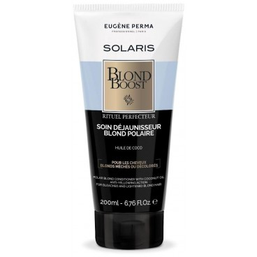 Soin raviveur reflets froids Blond boost Solaris EUGENE PERMA 200ML