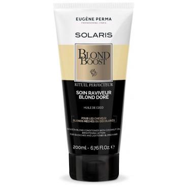 Soin raviveur reflets chauds Blond boost Solaris EUGENE PERMA 200ML
