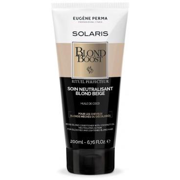 Soin neutralisant blond beige Blond boost Solaris EUGENE PERMA 200ML