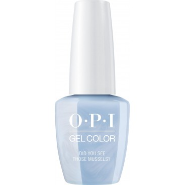 OPI Vernis Gel Color - Did You See Those Mussels ? 15ML