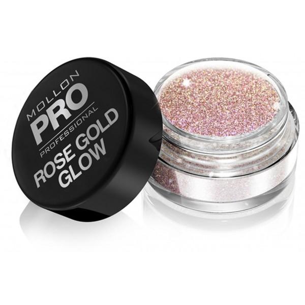 Luxury Glow Mollon Pro Rose Gold Powders