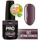 Semi-permanent Hybrid Care Mollon Pro 15ml Polish 157