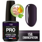 Vernis Semi-permanent Hybrid Care Mollon Pro 15ml 158